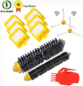 HEVENSA - Kit for iRobot 700 Series Parts Bristle Brush Flexible Beater Brush Spinning Side Brush Sets Bilters Brush Tool