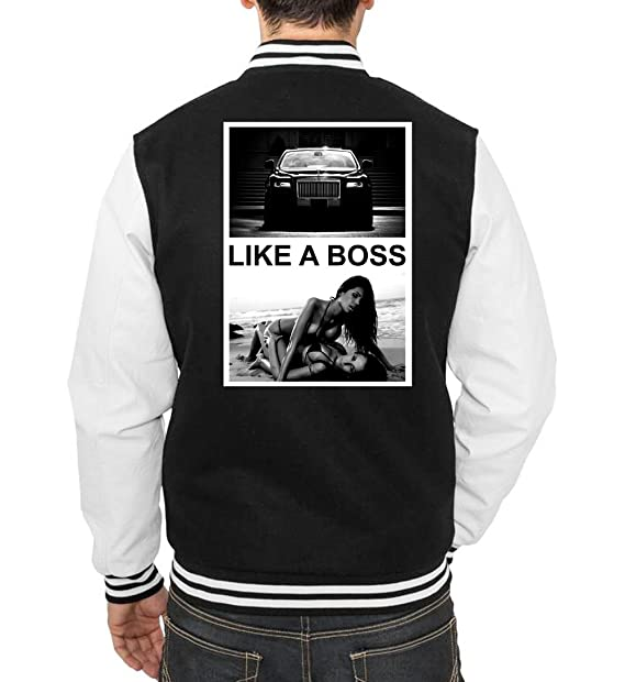 Certified Freak Like A Boss Girls and Cars College Vest Negro ...