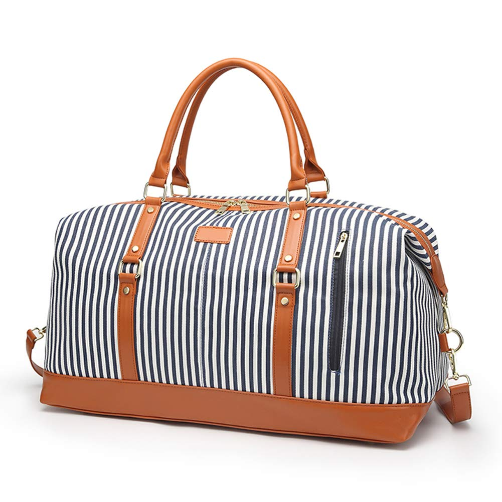 Gym Bag Sports Holdall Rainbow Wing Magic Wand Canvas Shoulder Bag Overnight Travel Bag for Men and Women