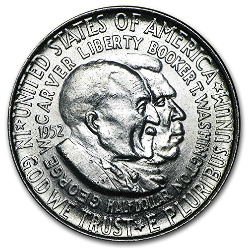 1952 Washington-Carver Half Dollar BU Half Dollar Brilliant Uncirculated ()