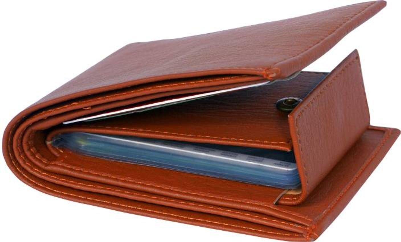 friends & company Men's Leather Good Money Clip (Tan)