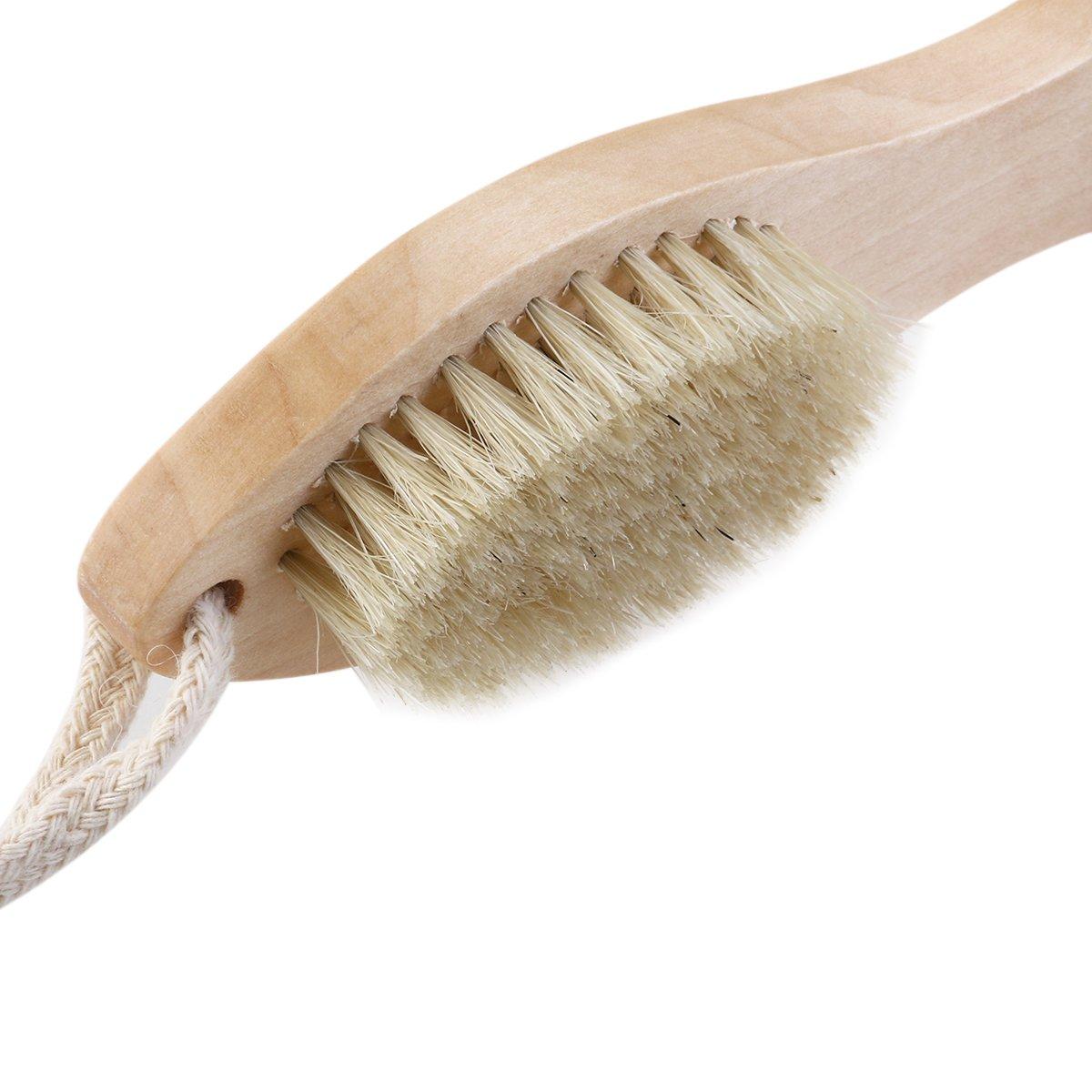 4-in-1 Foot Brush File Nail Brush Callus Reducer Pumice Stone for Feet Exfoliating Brush