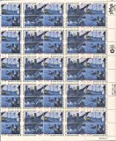 US Stamp - 1973 Boston Tea Party - 50 Stamp Sheet - Scott #1480-3