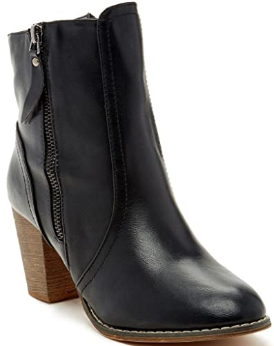 Anthonee Womens Fashion Booties