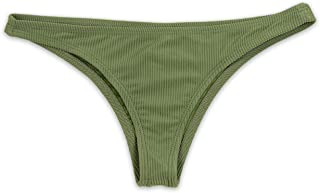 product image for Dippin' Daisy's Ribbed Cheeky Coverage Bikini Bottom
