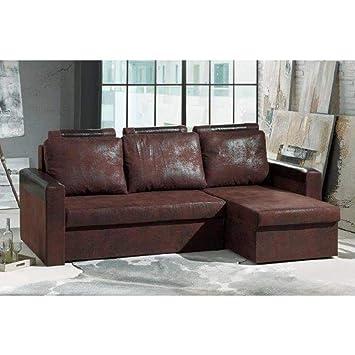 meilleur authentique 6e2c8 2fdb9 INSIDE Canapé d'angle Convertible rapido HIMALIA 130cm en ...