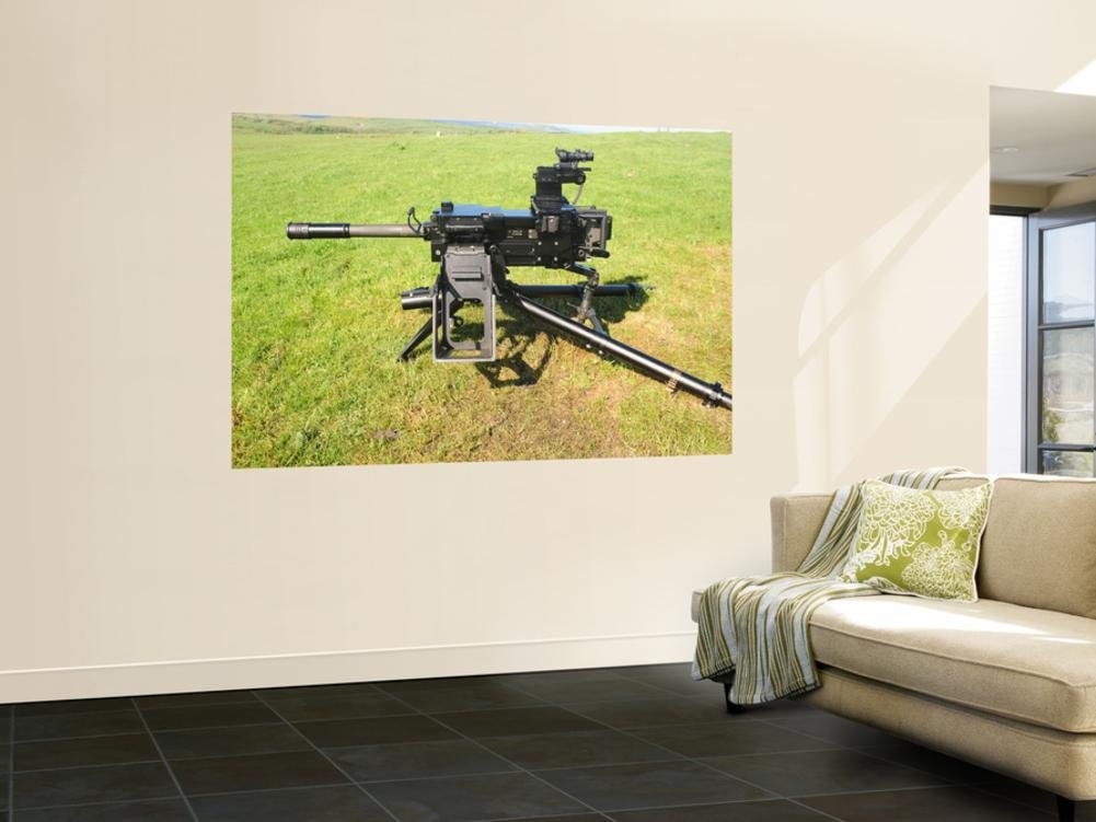 An MK19 40MM Machine Gun Wall Mural by Stocktrek Images 48 x 72in