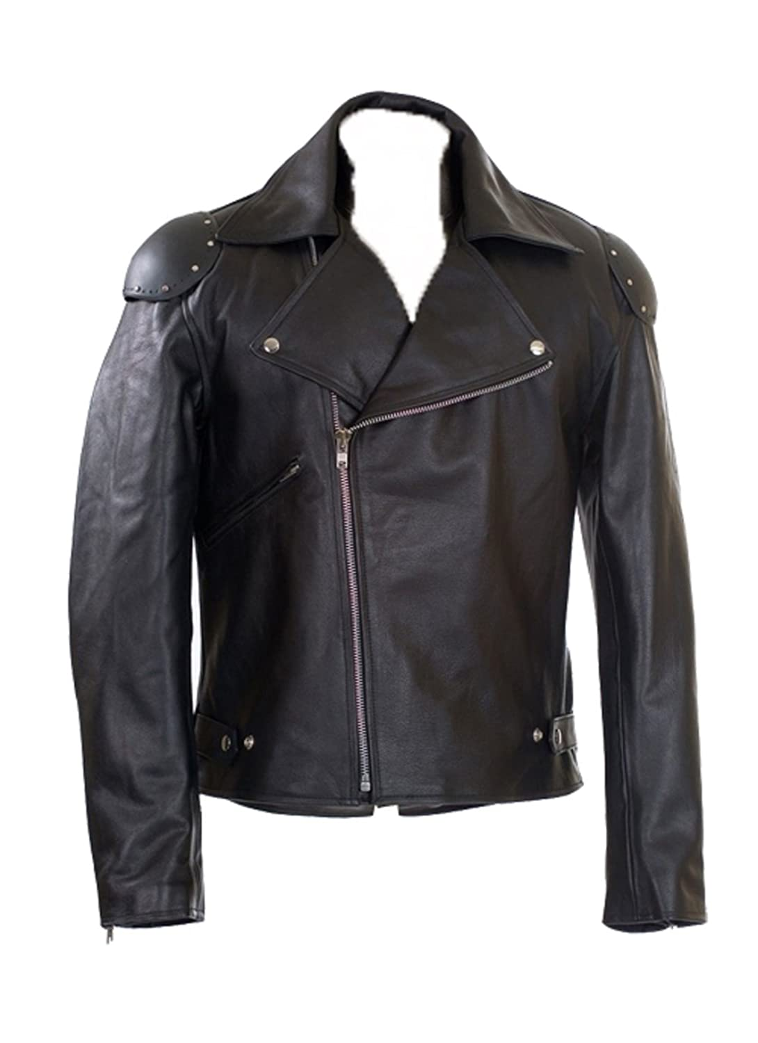 Men's Mad Max Real Biker/Rider Leather Jacket