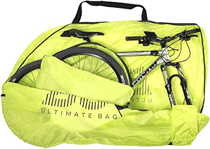 Housse De Transport VTT MTBag Original de Buds-Sports Id/éal Pour Le Transport Du V/élo En Voiture Bus En Quelques Secondes Votre VTT Est Prot/ég/é Sans D/émonter La Roue Arri/ère Concept Unique Au Monde