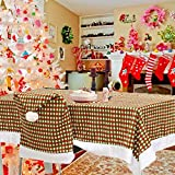 Bazaar 200x145cm Christmas Table Cloth Cover Hotel Dining Room Wedding Kitchen Decor Restaurant