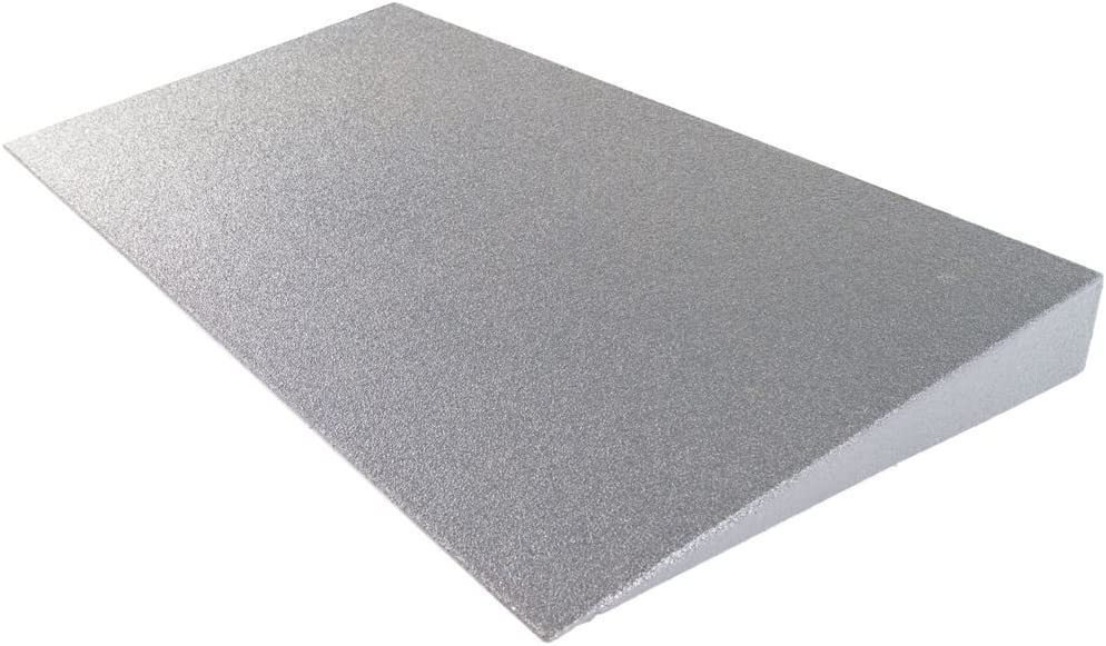 "Silver Spring 3"" High Lightweight Foam Threshold Ramp for Wheelchairs, Mobility Scooters, and Power Chairs"