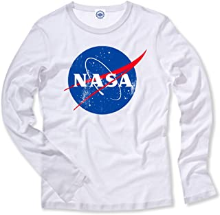 product image for Hank Player U.S.A. Official NASA Logo Kid's Long Sleeve T-Shirt