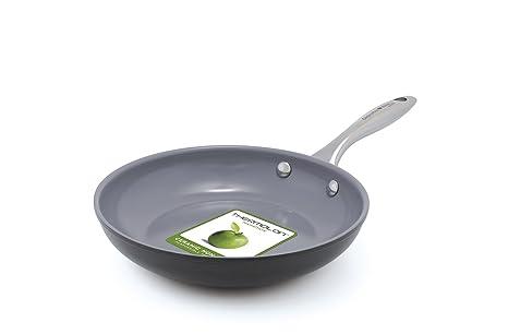 GreenPan CW000404 – 002 Me encantan los huevos y tortitas abierto sartén, 20 cm,