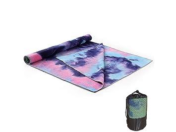 ADream Gimnasia de Ejercicio Tie-Dye Yoga Mat Print Toalla ...