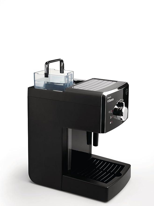 Saeco HD8323/01 - Cafetera Saeco Poemia espresso manual negra ...