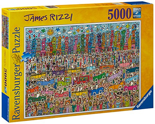 James Rizzi: City 5000 Piece Puzzle
