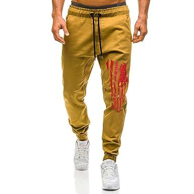 CHC - Pantalones de chándal Informales para Hombre: Amazon.es ...