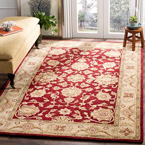 Safavieh Handmade Antiquities Jewel Red/Ivory Wool Rug - 8'3