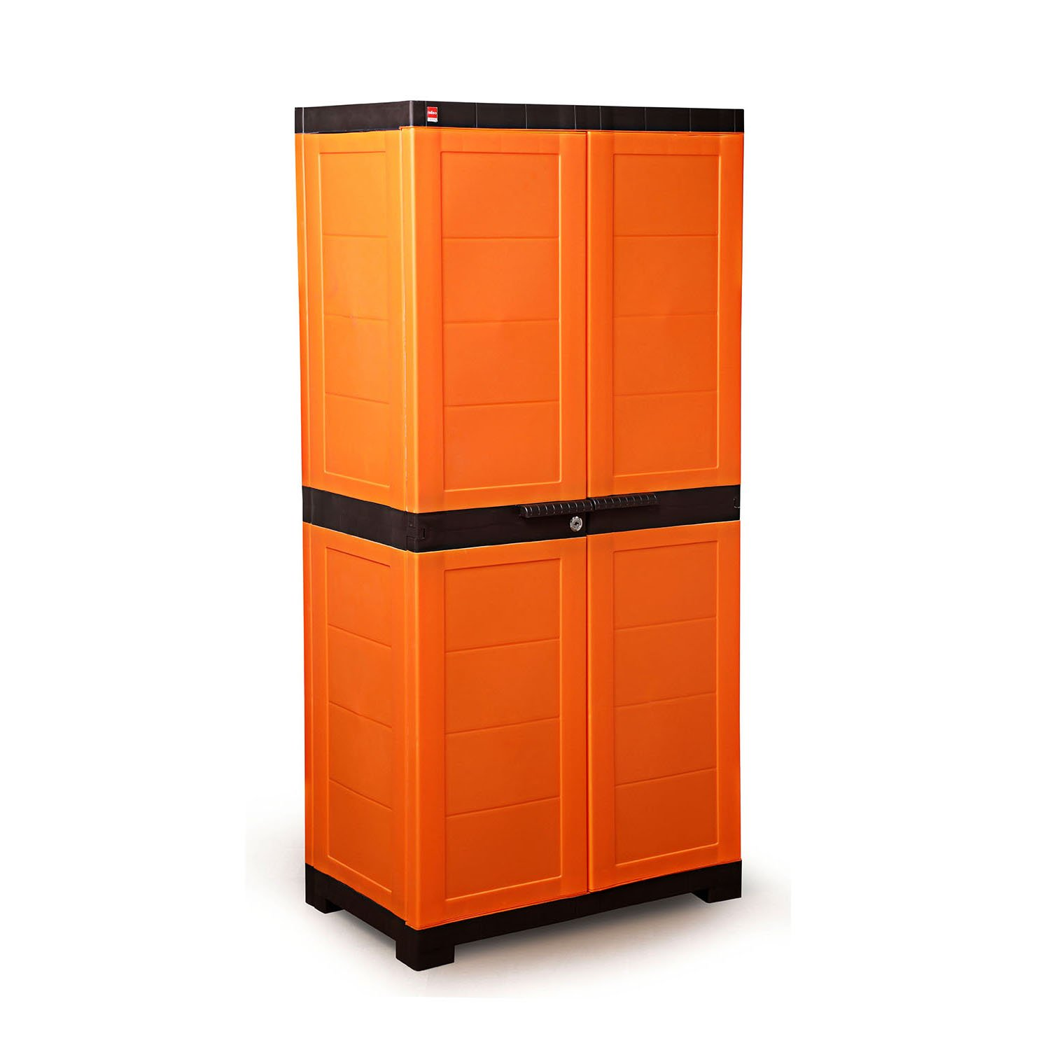 Cello Novelty Big Cupboard With 3 Shelves Orange And Brown Buy Online In Guyana At Guyana Desertcart Com Productid 75925257