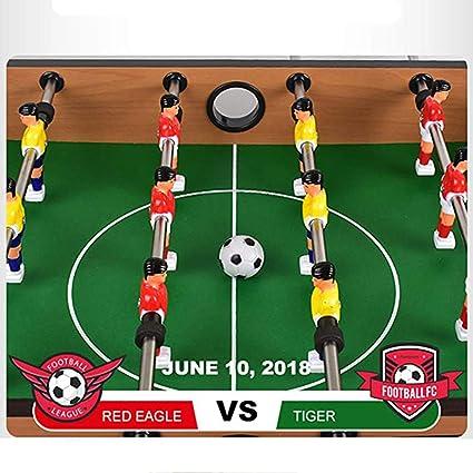 SYCHONG 4-Bar Futbolín Máquina, Mini Sobremesa Juego De Billar, Futbolín De Madera para Niños Máquina De Cuatro Barras Niño, Adulto Dobles Juegos De Tabla Fútbol Juguetes: Amazon.es: Hogar