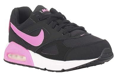 air max rosa y negro