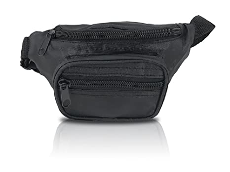 3797ad41ae63 Amazon.com | Nineteen80something Fanny Pack For Children/Kids Size Waist Bag/For  Boys, Girls, Toddlers And Babies (Black) | Waist Packs