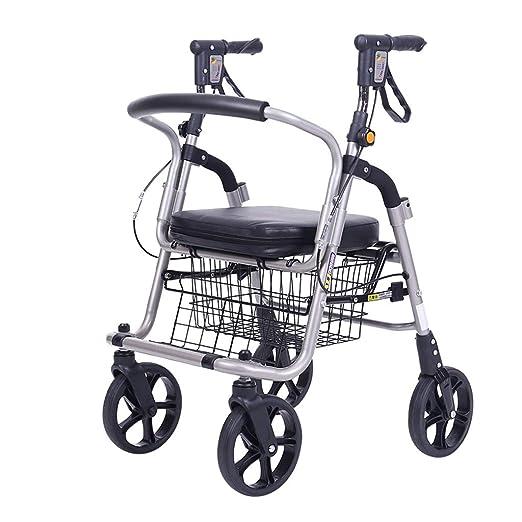 GQQ Carro de la Compra aleación de Aluminio Old Man Push Cart de ...