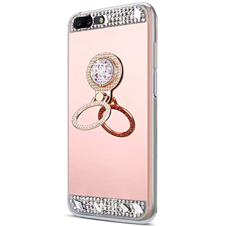 Funda One Plus 5,Surakey One Plus 5 Movi,Bling Glitter ...