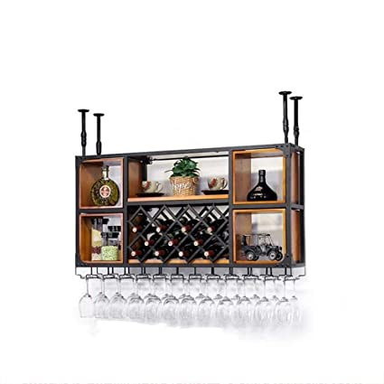 Amazon Com Mkkm Wine Racks Wine Shelf Wall Mounted Wine Cabinet