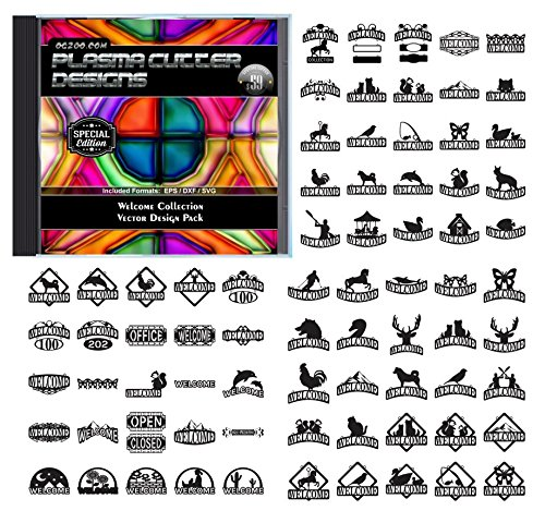 Amazon Com Plasma Cutter Designs Welcome Collection