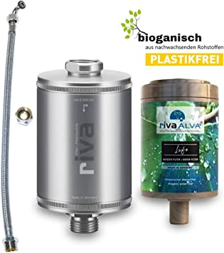 rivaALVA Filter Life - Juego de filtros de agua potable 100 ...