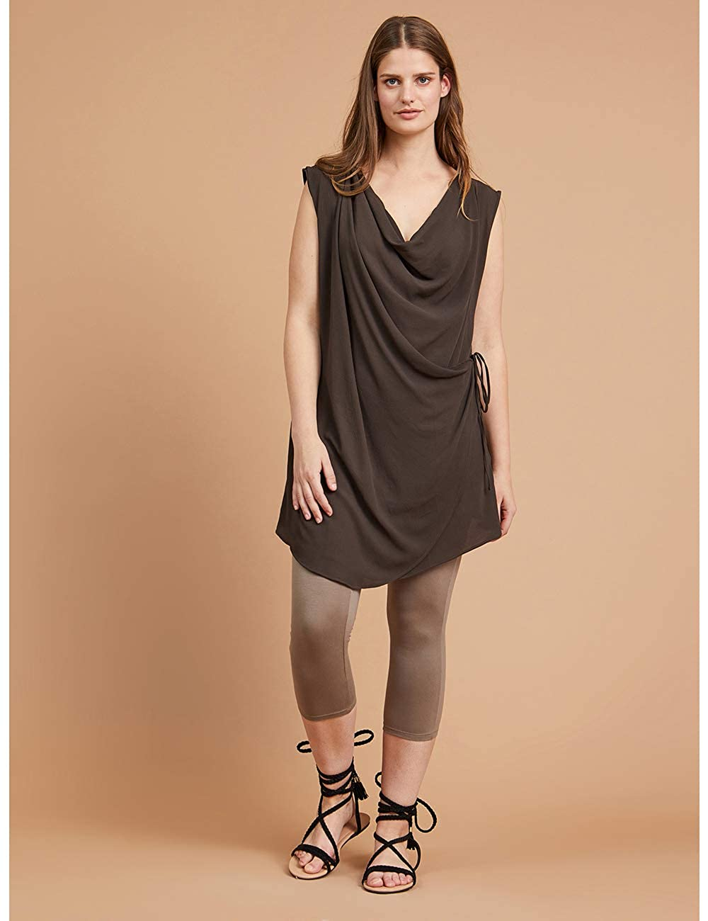 Fiorella Rubino Leggings Corti Basic Italian Plus Size