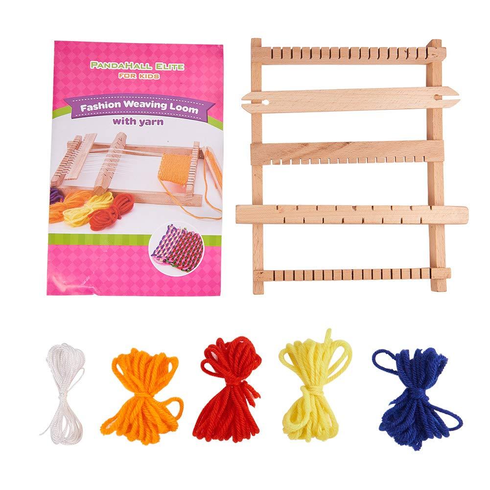 Amazon.com: Pandahall 1 Sets(6 pcs) Plastic Spool Knitting Loom for ...