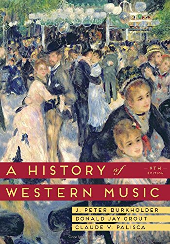 Hist.Of Western Music (Reg.Ed) W/Access