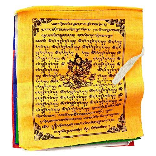 Tibetan Make Flags Prayer (Prayer Flag Tnp Tara, Small Handmade Certified Fair Trade)