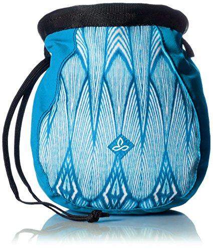 prAna Women's Large Chalk Bag with Belt, Blue Feather, One Size (Prana Chalk Bag)