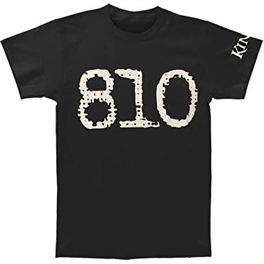 Amazoncom King 810 Mens Giant 810 Slim Fit T Shirt Medium Black