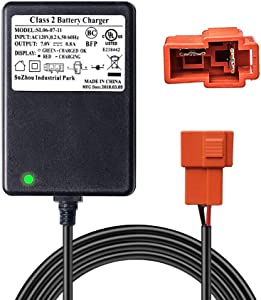 6V AC Adapters Charger for Kid Ride On,Red Connector,Compatible for 6V Kids Ride On Car for Rollplay Kid Trax Frozen Toddler