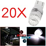 cciyu T10 194 168 192 921 Wedge 2323 SMD High Power 1W LED Light Bulbs
