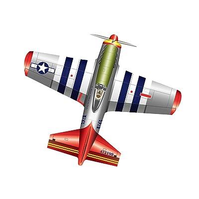 "X-Kites WindNSun FlightZone 53"" Nylon Kite - Mustang: Toys & Games"