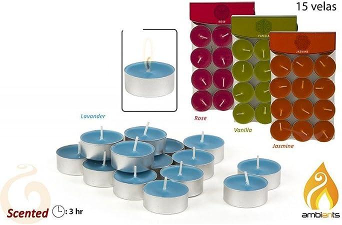 Pack 15 velas aromáticas pequeñas: Amazon.es: Juguetes y juegos