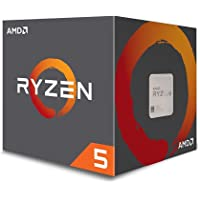 AMD Ryzen 5 1400 Desktop CPU - AM4/Quad Core/3.2GHz – 3.4GHz Turbo/8MB/65W