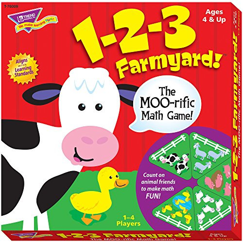 TREND enterprises, Inc. 1-2-3 Farmyard! Learning Game