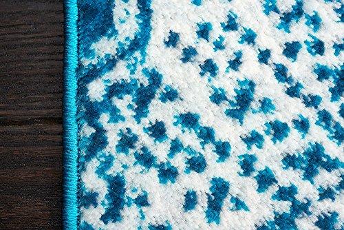 Unique Loom Sofia Collection Turquoise 5 x 8 Area Rug (5' x 8')