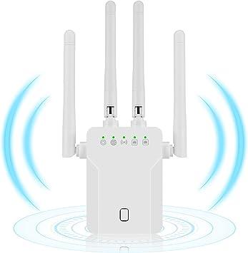 ODLR Amplificador Señal WiFi, Repetidor WiFi de Doble Banda ...