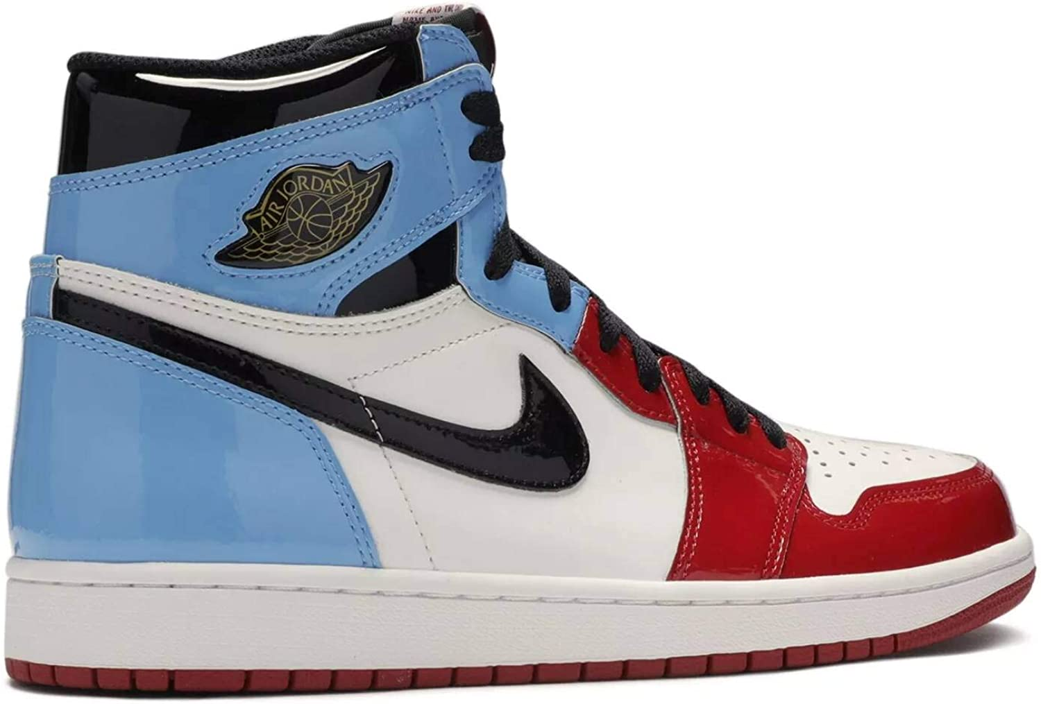 AIR JORDAN 1 Baskets rétro High OG Fearless Vernis Hite