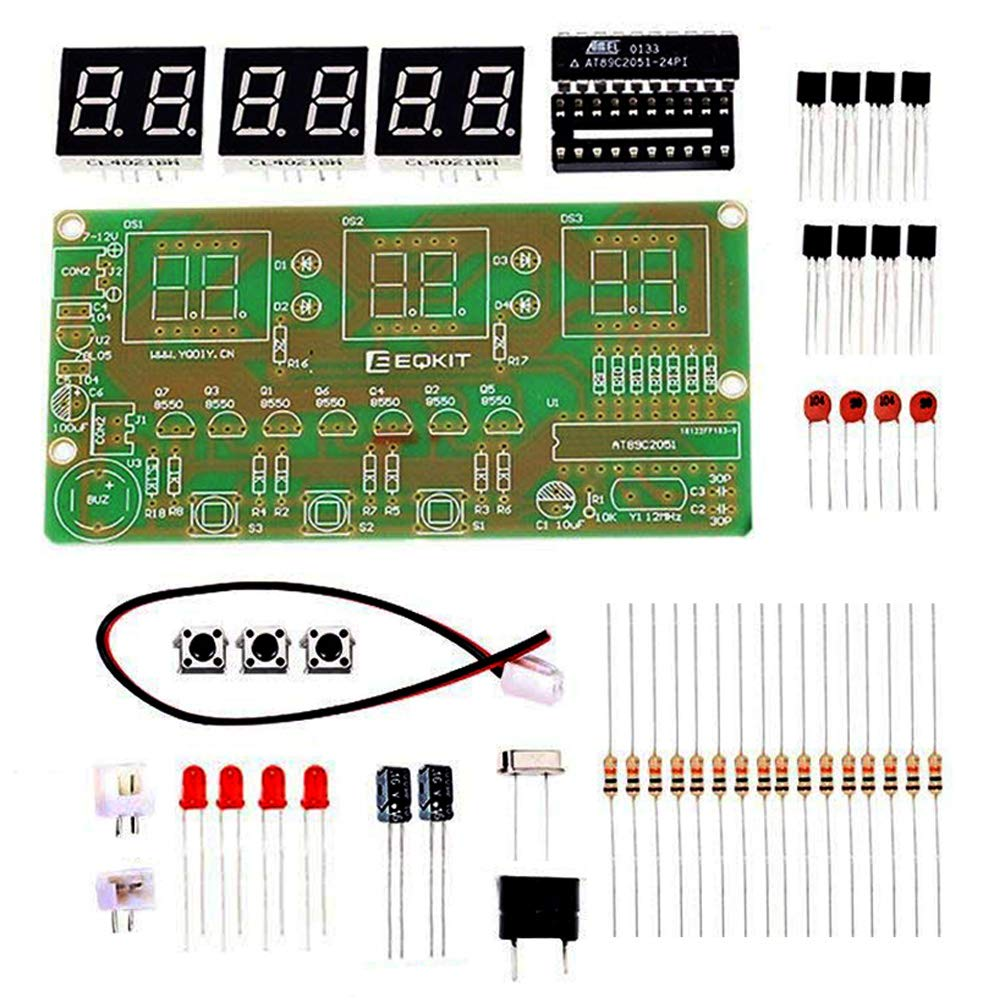 Is Icstation Digital Clock Soldering Project Diy Circuit Electronic Production Suite Kits Module Board Assemble Kit 6 Bits At89c2051 Dc 3v 6v C51 Science School Learning Creative Season