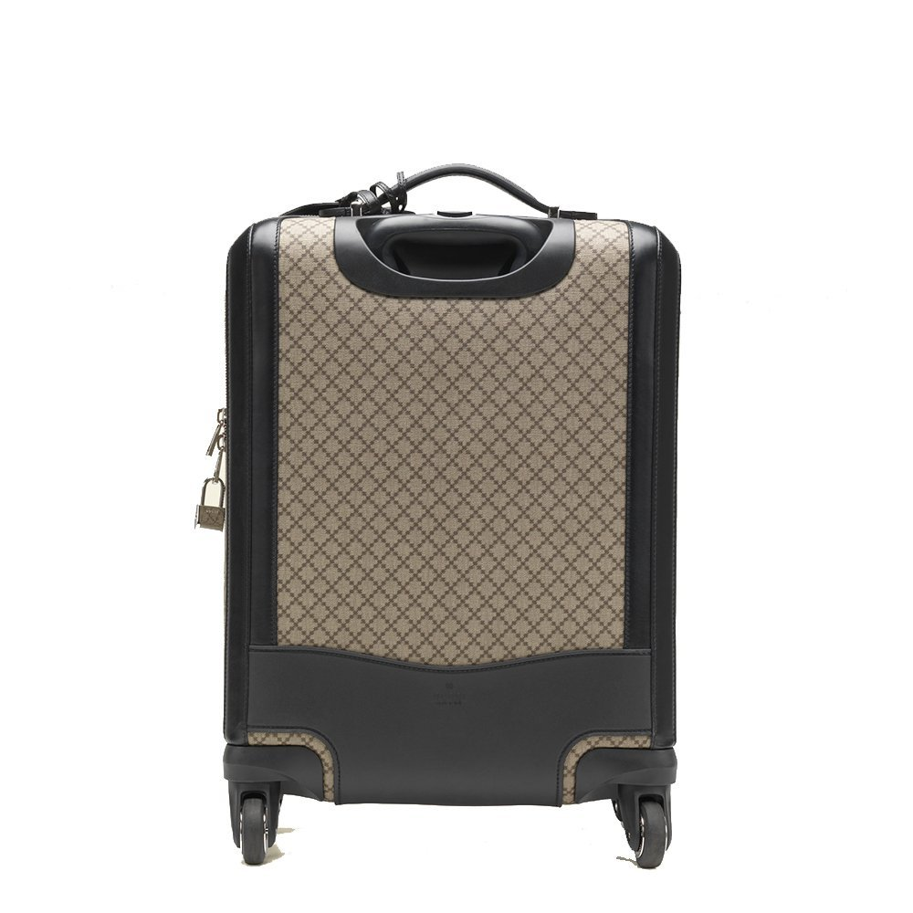 a98e157d870 Gucci Men s Wheel Black Supreme Canvas Carry-On Suitcase Luggage 293909   Amazon.ca  Clothing   Accessories