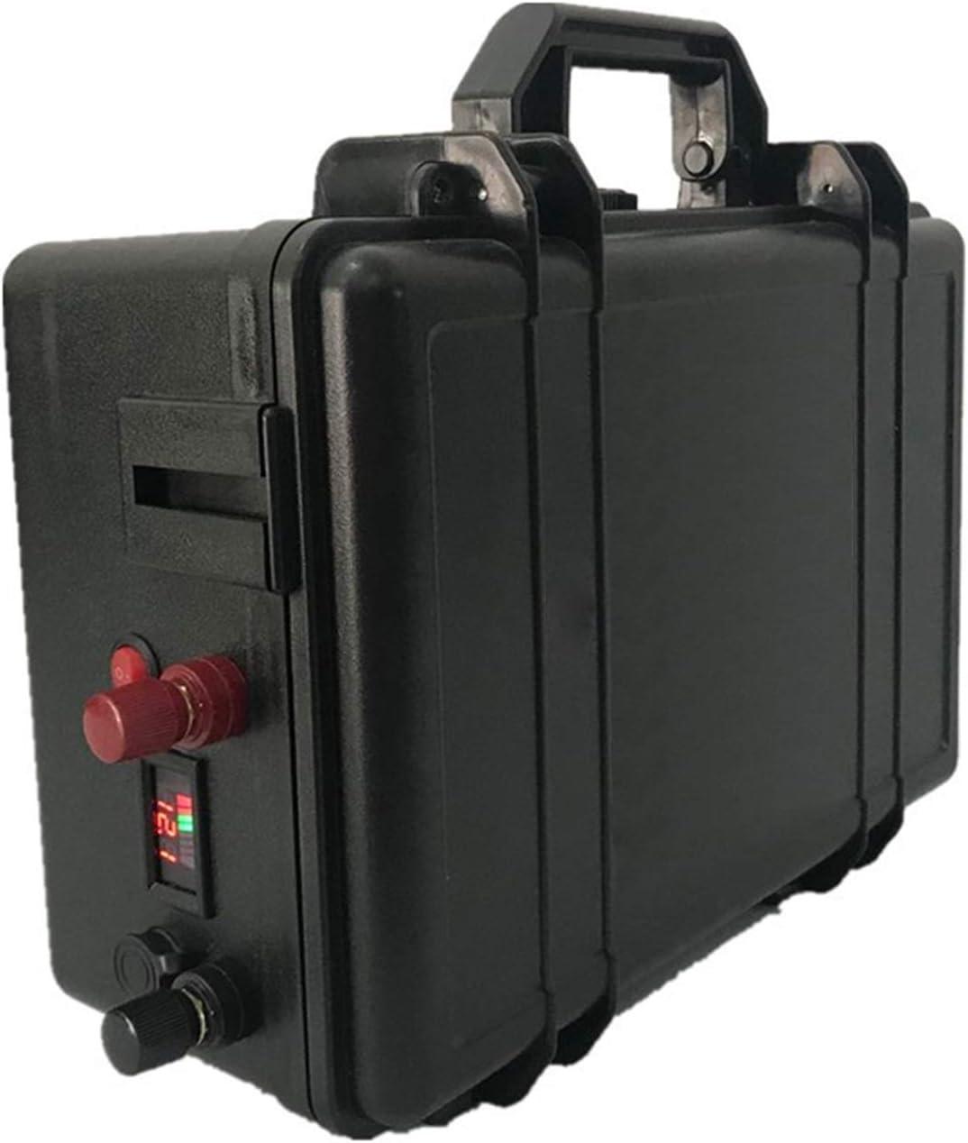 GJZhuan Paquete De Baterías De LIFEPO4 24V 100AH + Paquete De Batería De Litio Impermeable con Cargador 10A para Inversor, Sistema Solar, Motor De Barco