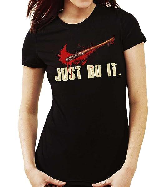 35mm - Camiseta Hombre Just Do It- Lucille Negan The Walking Dead vDcAiJaXA